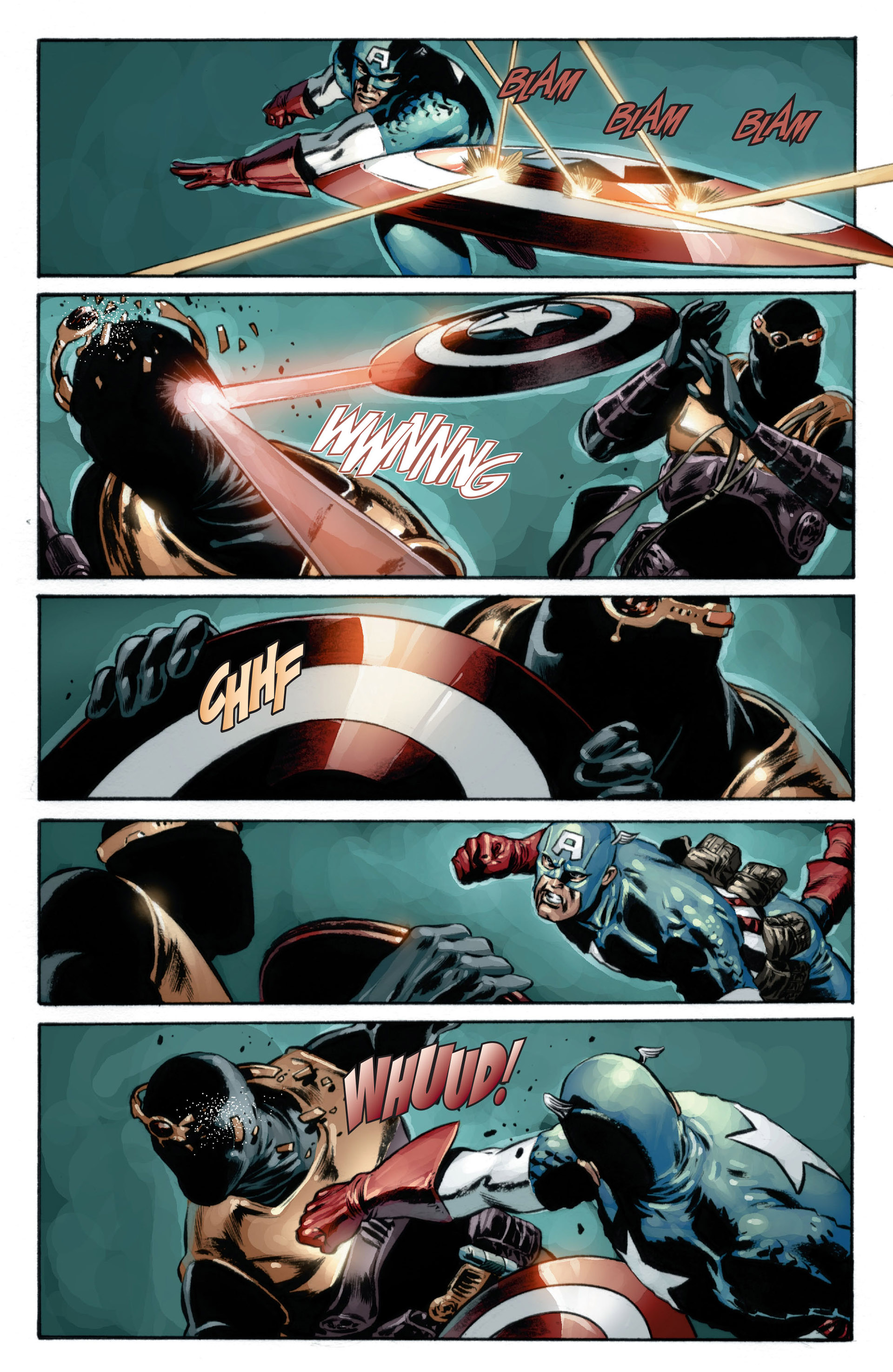 Captain America (2005) Issue #17 #17 - English 15