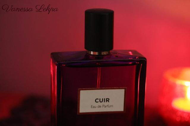 vanessa lekpa : avis et critique parfum Cuir de molinard