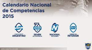 Calendario nacional para el 2015