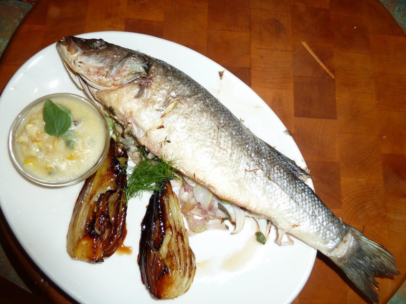 Gastroblog whole roasted branzino for What is branzino fish