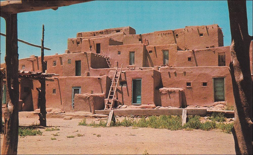 New Mexico Taos Pueblo Indians