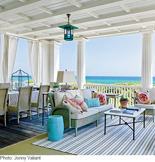 Crimson Design: Beachy Chic