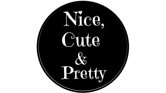 nice, cute and pretty