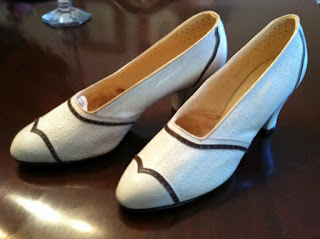 Original 1930s Shoes from Kate Winslet Movie