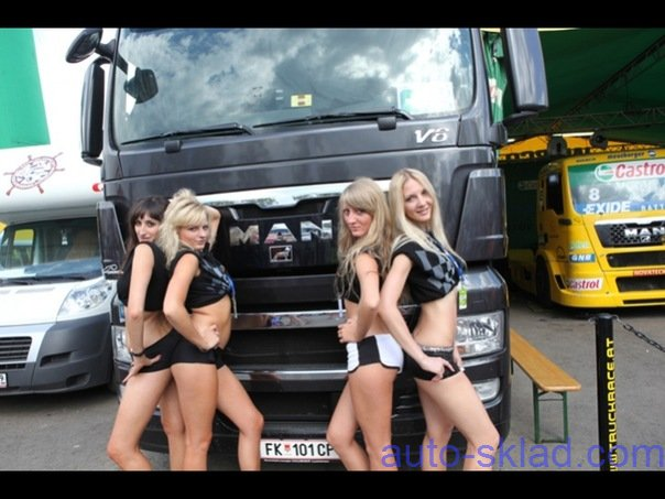 foto belle ragazze su camion Girl-and-truck-2