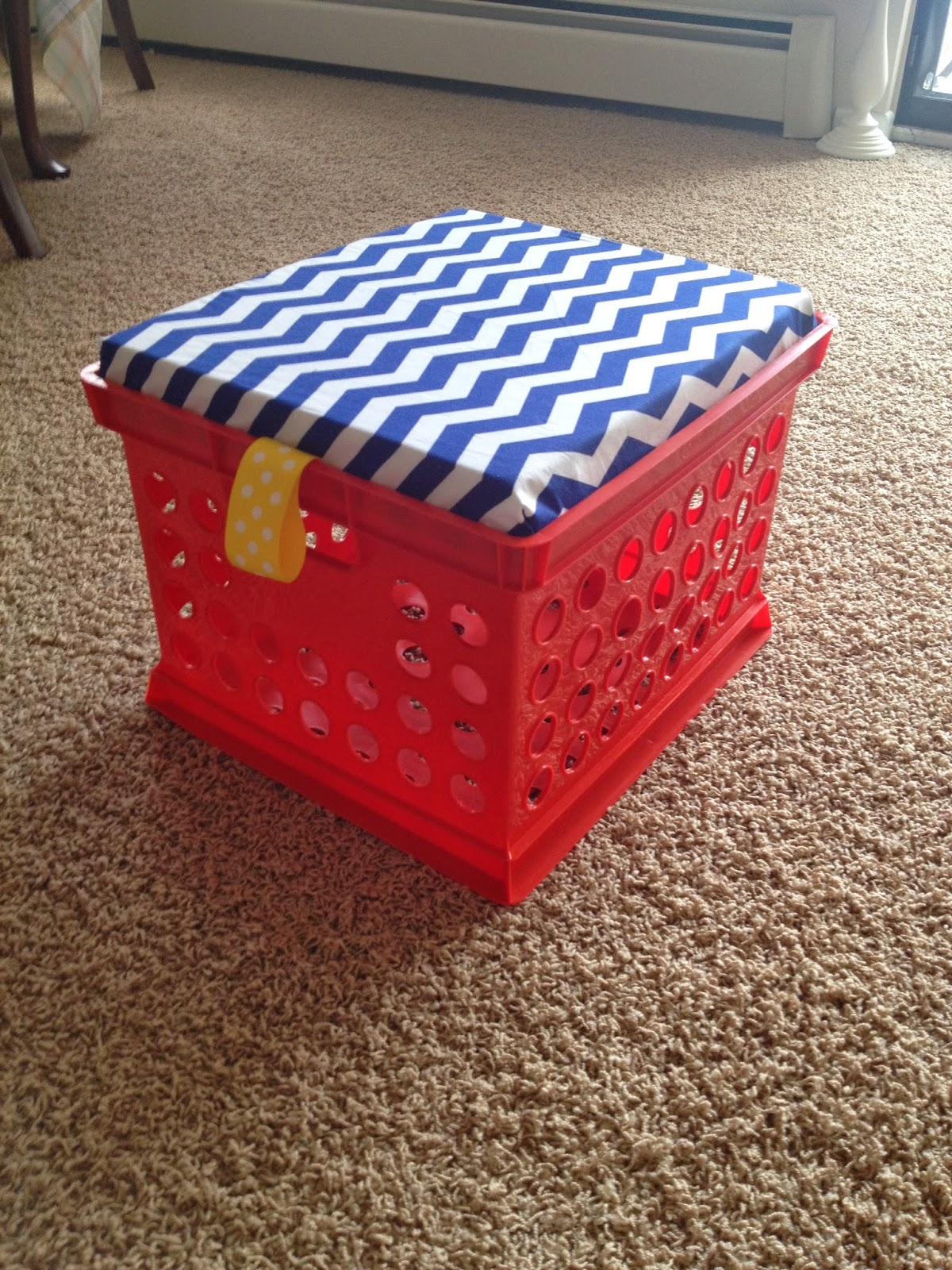 Gentil 7. Place Seat Lid Into The Crate And ENJOY Your New Milk Crate Storage Seats !!!