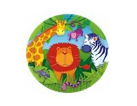 Plato animales jungla