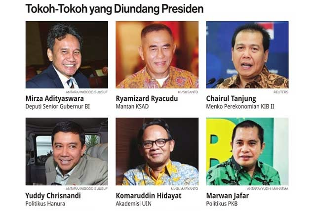 34 Menteri Jokowi-Jk Sudah Tuntas 99%