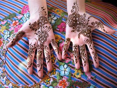 رسومات بالحناء رائعة Latest+Bridal+Mehndi