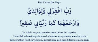 Doa Untuk Mak & Bapak