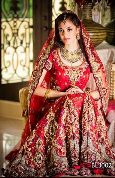 ... Asian Bridal Dress Collection 2012-2013  Charisma Indian Bridal