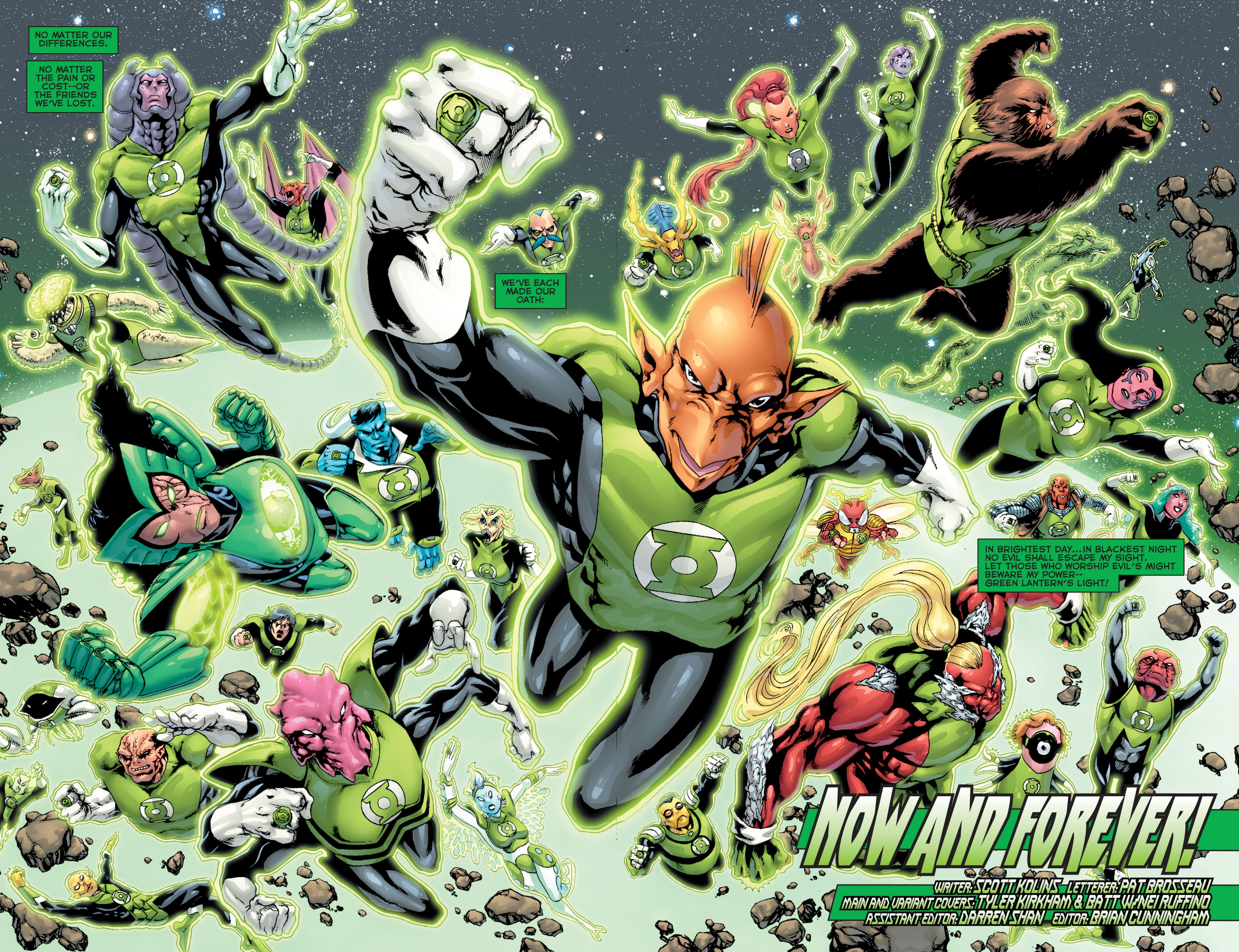 Read online Green Lantern Corps (2006) comic -  Issue #63 - 21