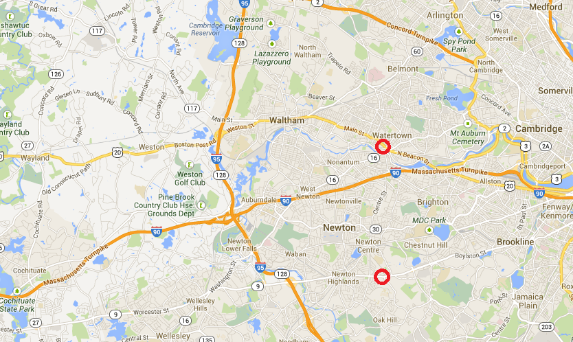 The Amateur Planner: Google Maps has some work to do on route hierarchy