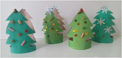 Enfeite de Natal ecológico
