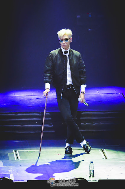 All TOP need is a crutch to look coolest among all