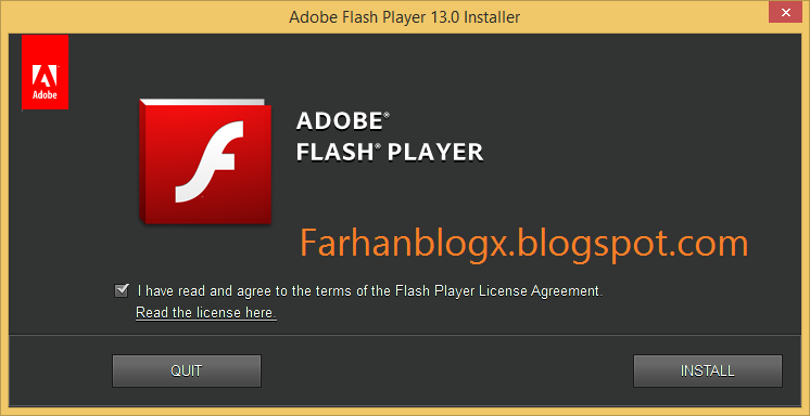 Download Adobe Flash Player 13.0.0.214 Offline Installer Terbaru
