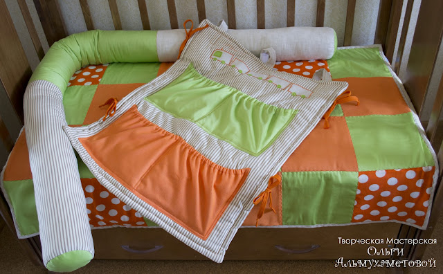 Как сшить постельное на детскую кроватку своими руками фото