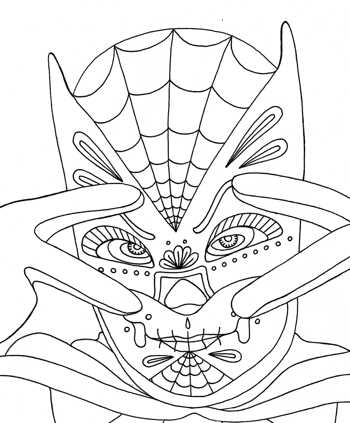 yucca flats nm wenchkins coloring pages dia de los adam west