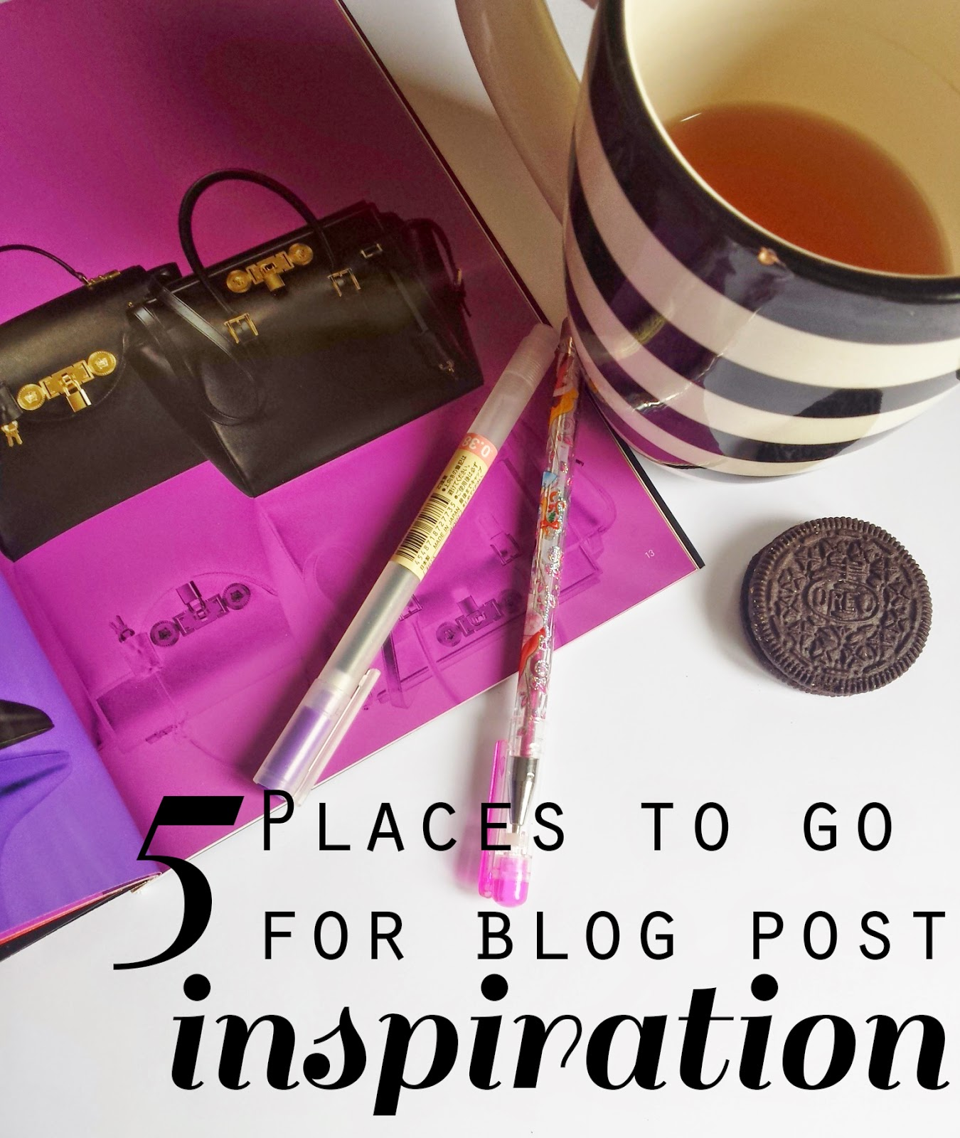 5 Places To Go When You're Stuck For Blog Post Inspiration