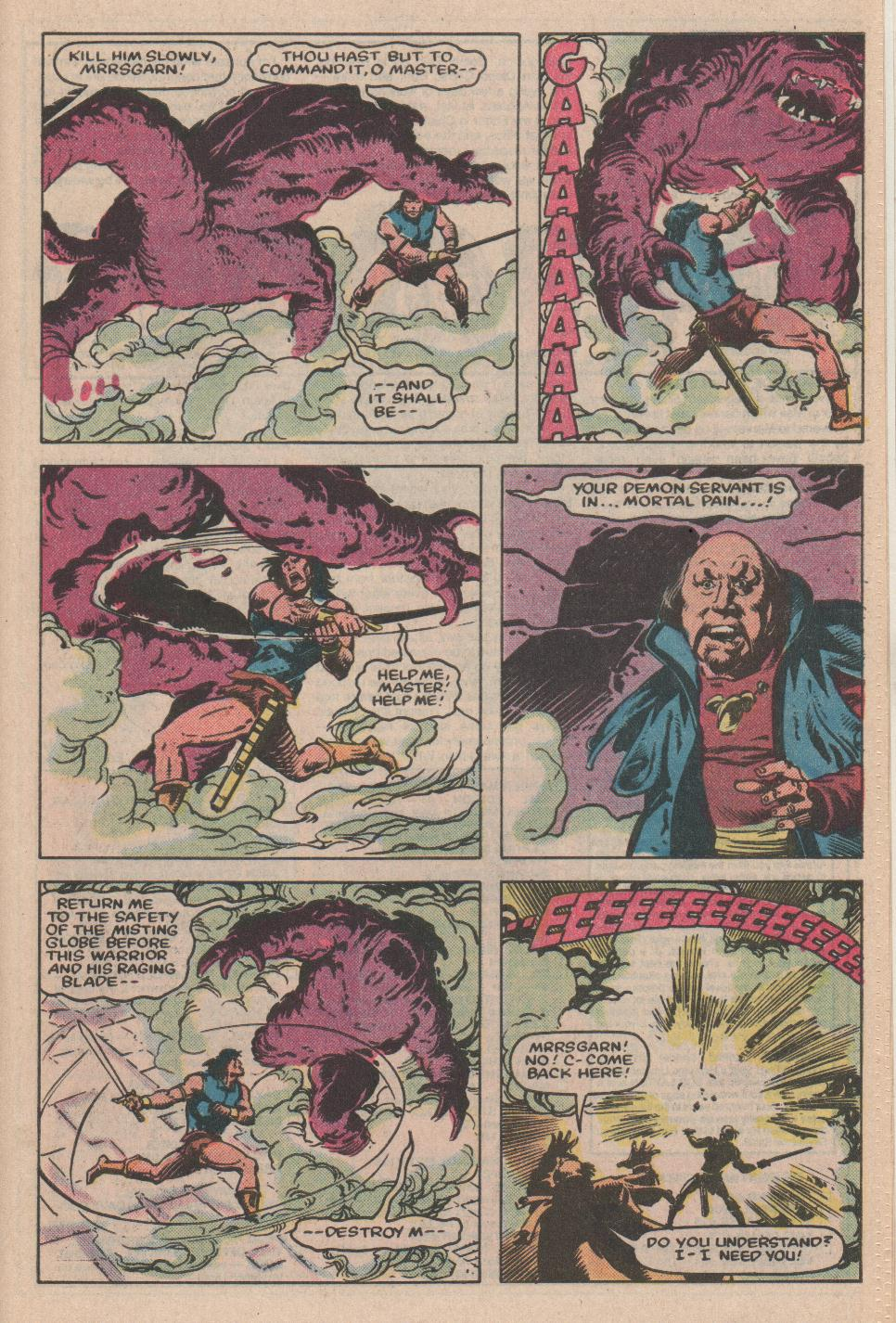 Conan the Barbarian (1970) Issue #155 #167 - English 20