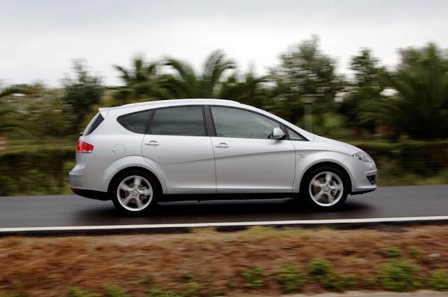 Seat Altea XL con la nueva gama 4KIDS