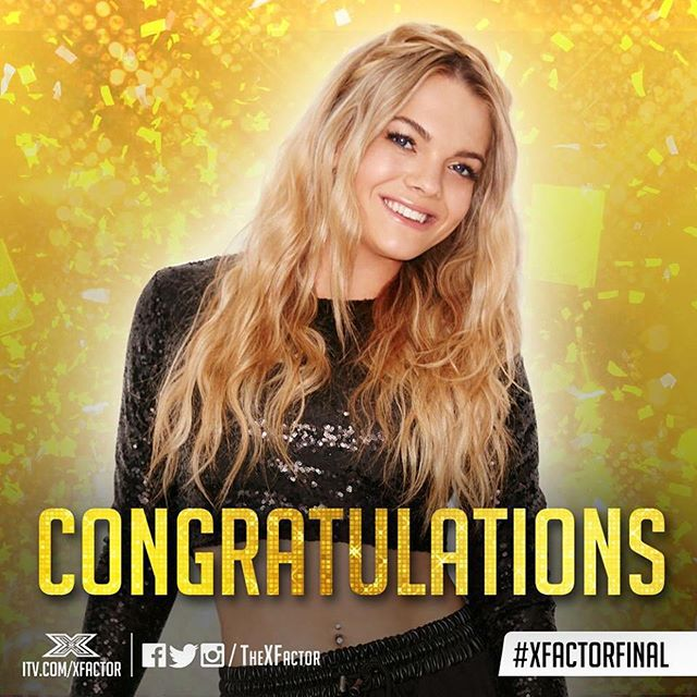Louisa Johnson wins X Factor UK