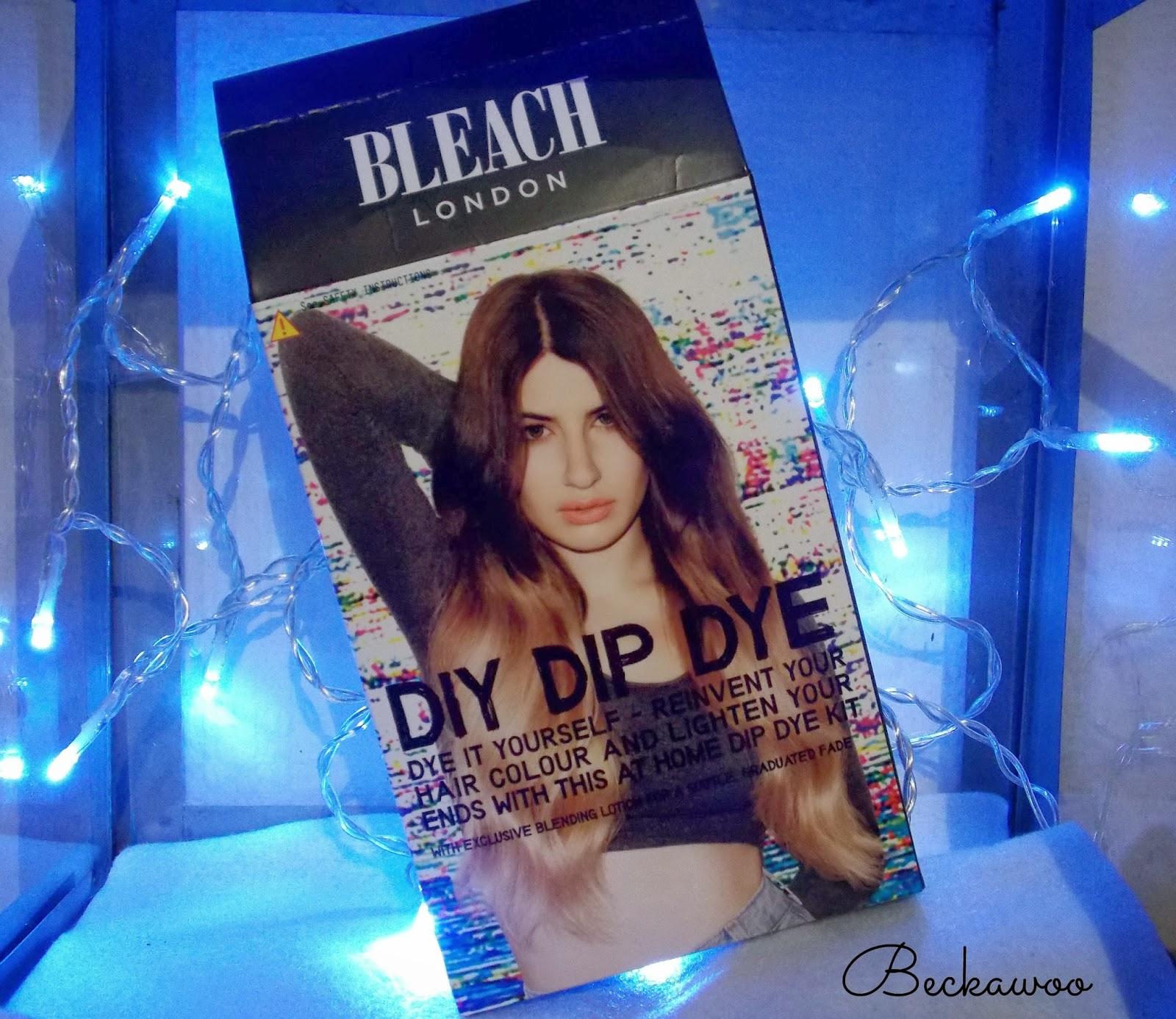 Review tutorial bleach london diy dip dye beckawoo review tutorial bleach london diy dip dye solutioingenieria Choice Image