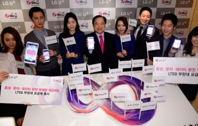 LG Rilis Unlimited LTE Data Service
