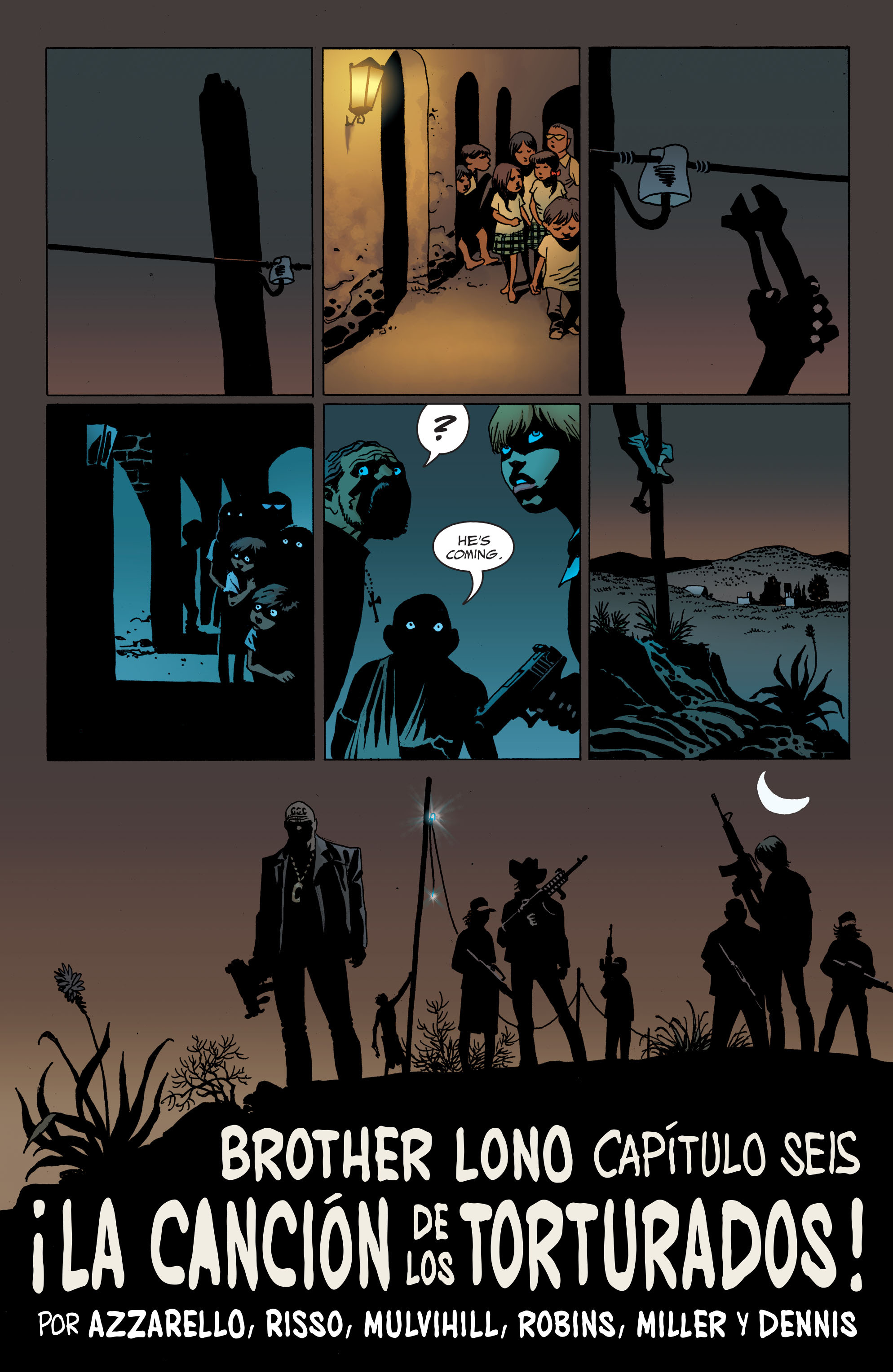 100 Bullets: Brother Lono Full Page 129