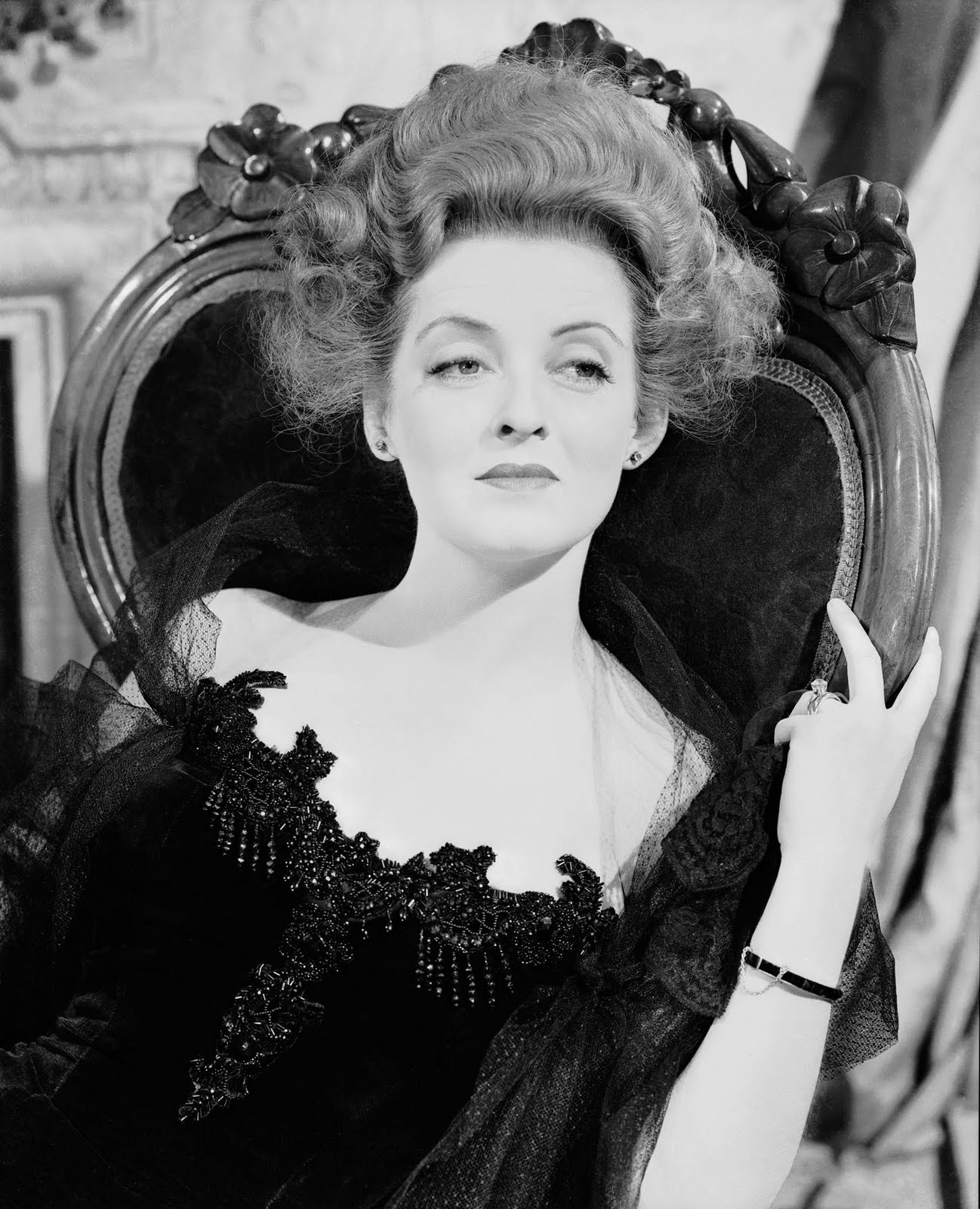 Bette Davis as the villainous