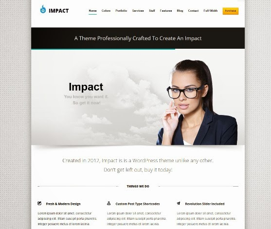 Impact Flexible and Responsive WordPress Theme