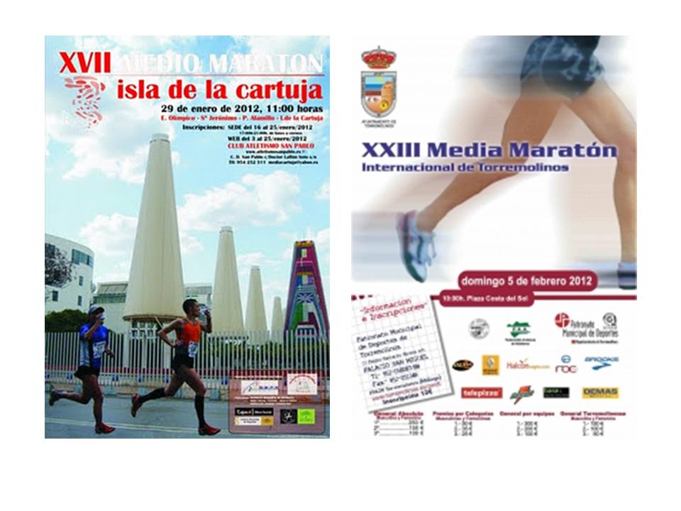 Atletas del tesorillo y secadero media maraton isla de la - Isla de la cartuja ...