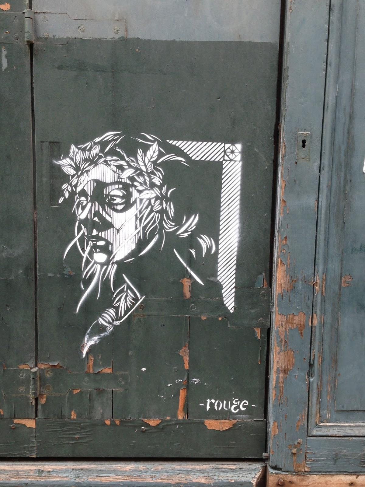 Bordeaux Street Art Rouge