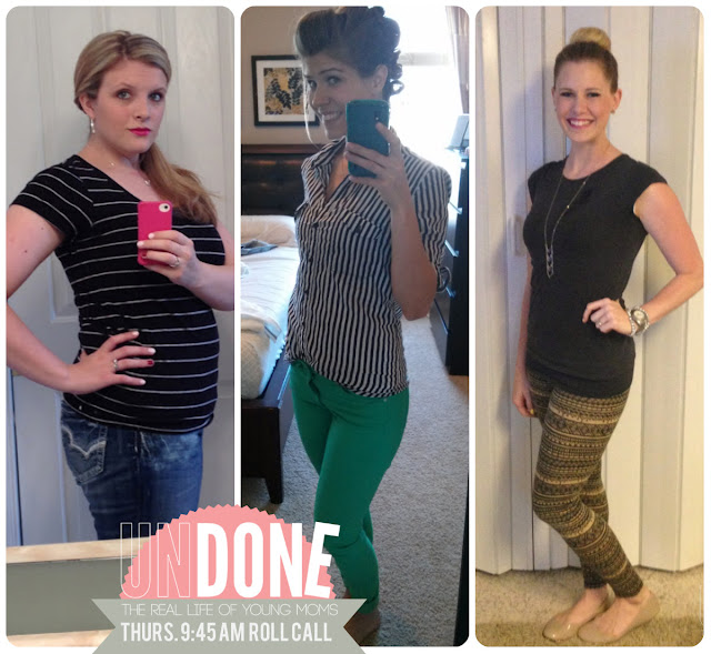 {The UNDONE Blog} Real Life Mom Fashion