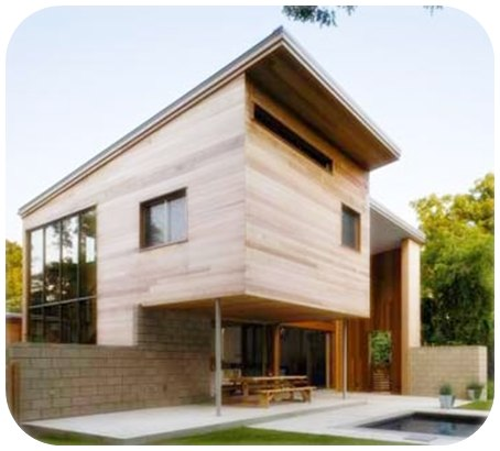 Desain dan model rumah kayu minimalis