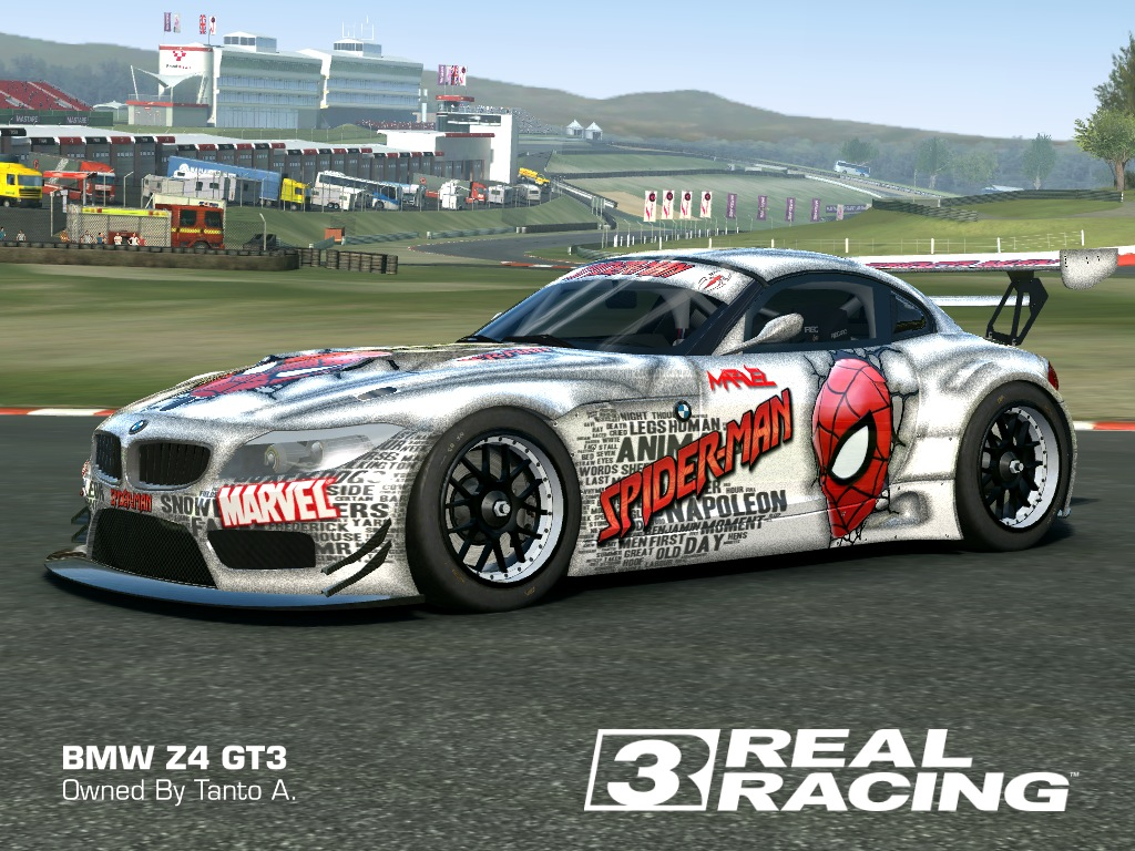 2010 bmw z4 gt3 skin spiderman bmw z4 gt3 hd livery by tanto arc link download