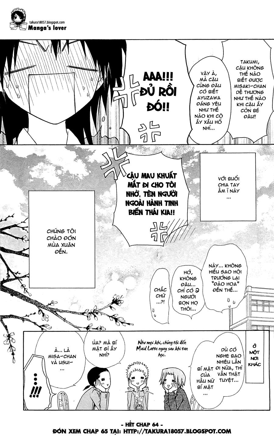 Kaichou wa Maid-sama! chap 64 Trang 29