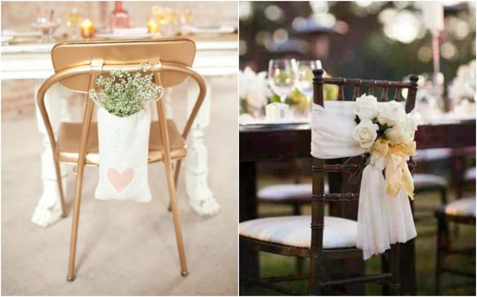 Decoramos las sillas del banquete a todo confetti for Sillas para matrimonio