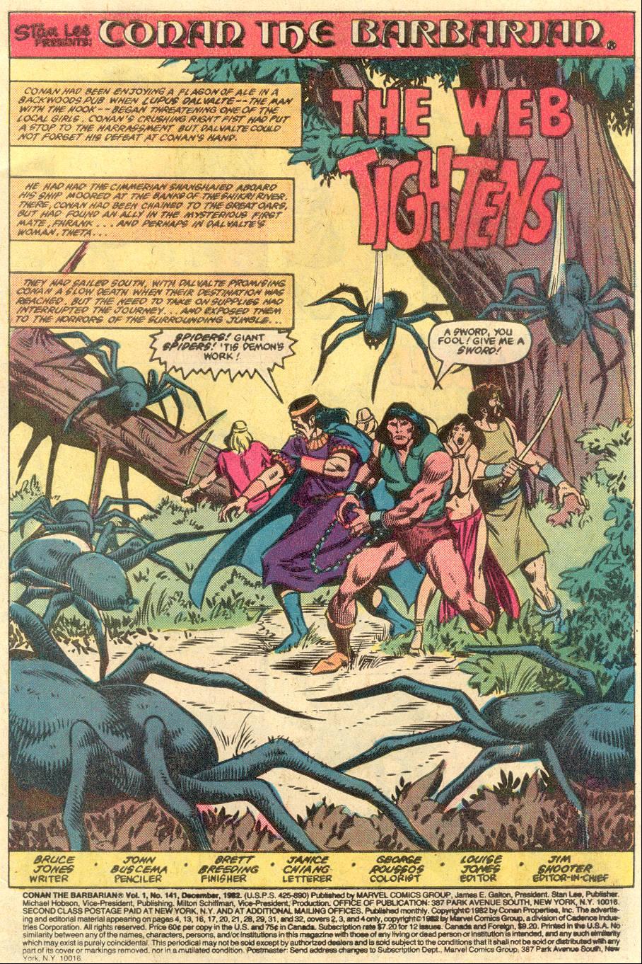 Conan the Barbarian (1970) Issue #141 #153 - English 2