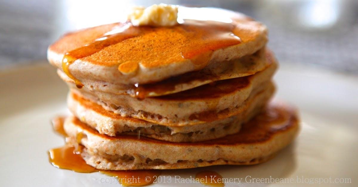 Greenbeane: Tropical Banana Pancakes