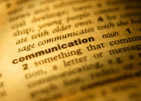 definition of communication from the dictionary