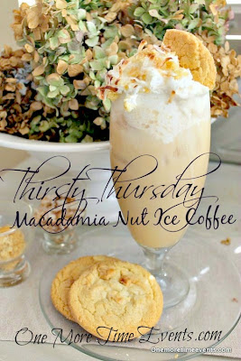 Macadamia Nut Iced Coffee One More Time Events