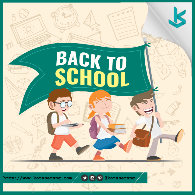 Gambar Vector - Gambar Back To School