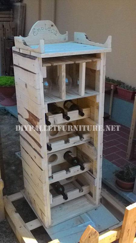 Vinoteca dise ada con palets - Fotos de vinotecas ...
