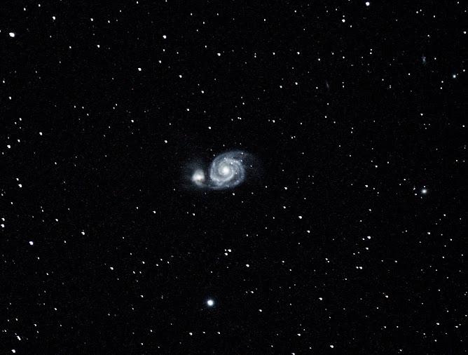 Galaxia M51.
