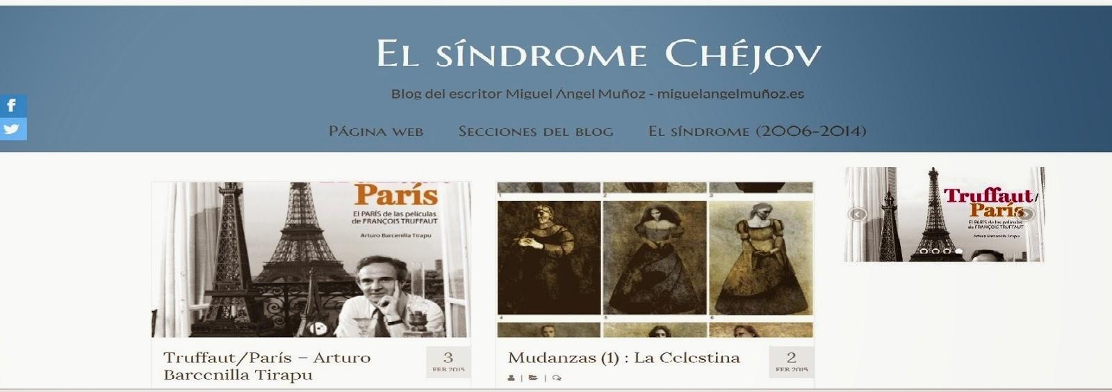 """Enlace a nuevo blog """"El síndrome Chéjov"""""""