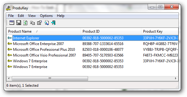 windows 7 free product key finder