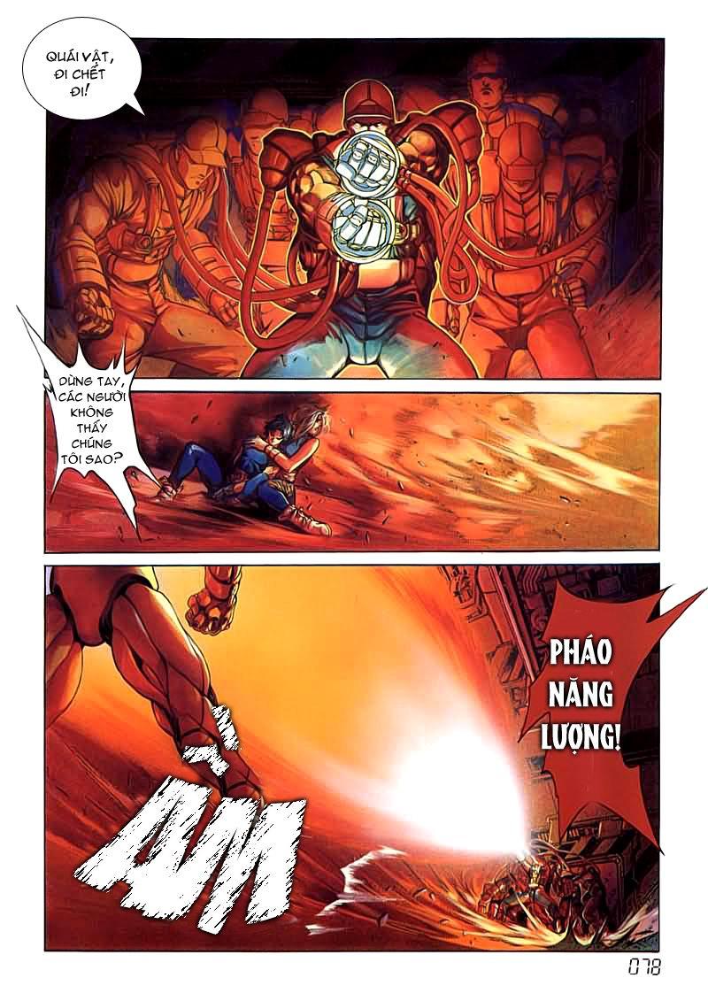 Cyber Weapon Z - Siêu Thần Z chap 4 - Trang 37