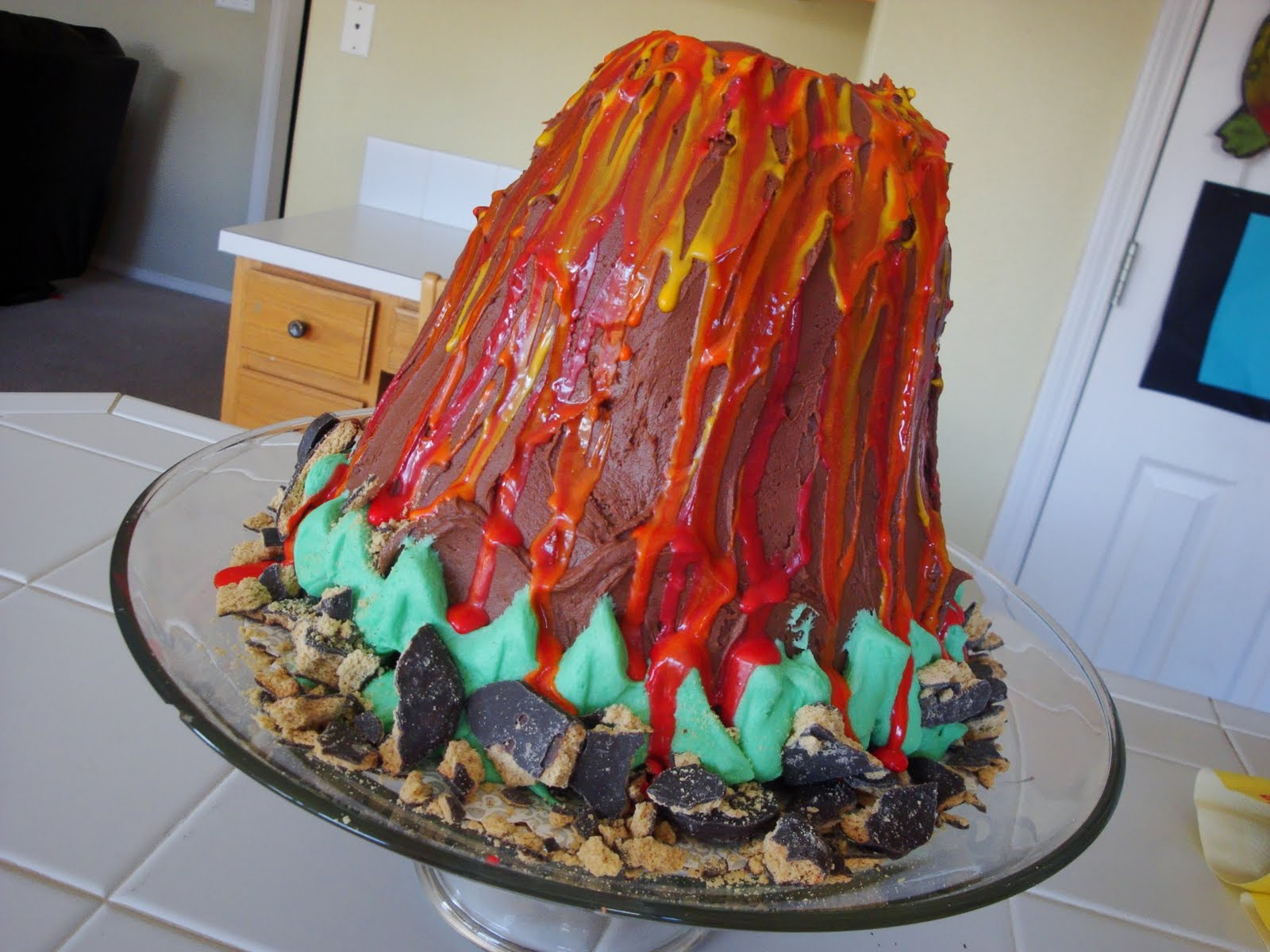 How Can I Make A Volcano Cake Erupt