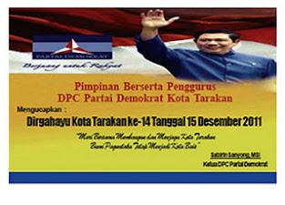 DPC Partai Demokrat Kota Tarakan